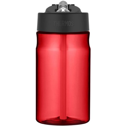 Thermos Red BPA Free Plastic Hydration Water Cup Bottle 355ml